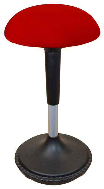 Wobble Stool Adjustable Height Active Sitting Balance Chair For Office Stand Up.