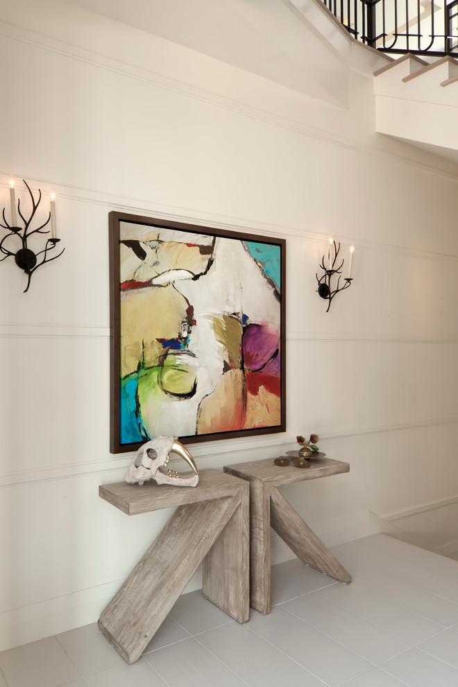 Mid-sized trendy home design photo in Miami