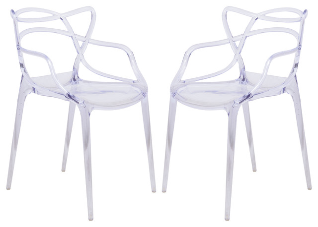 Groovy Leisuremod Milan Modern Wire Design Set Of 2 Chair Creativecarmelina Interior Chair Design Creativecarmelinacom