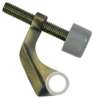 HPH89U5 Hinge Pin Stop, Hinge Mounted For Brass Hinges, Antique Brass