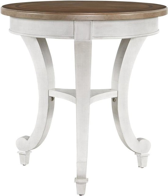 Side Table Universal Furniture Round Linen Farmhouse Tables And End By Euroluxhome