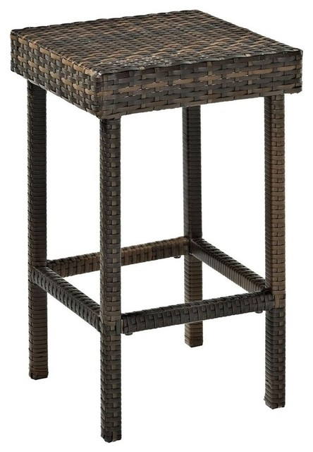 Excellent Palm Harbor Outdoor Wicker 24 Counter Height Stools Set Of 2 Frankydiablos Diy Chair Ideas Frankydiabloscom