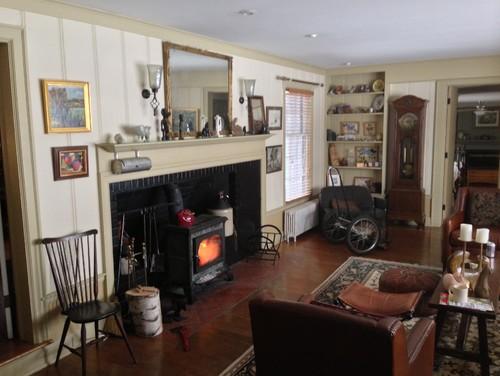 Fireplace/Bay window living room dilemma