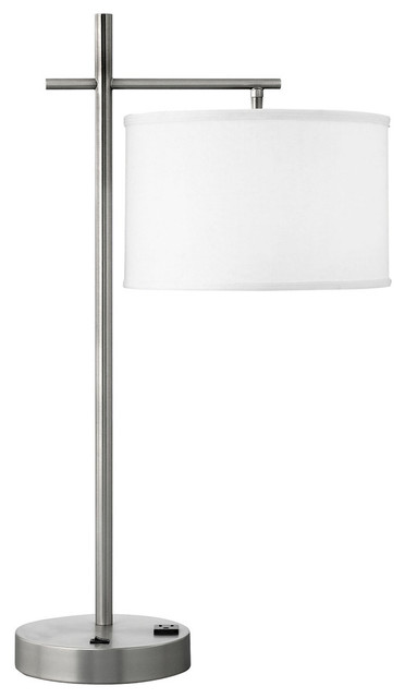 Single Nightstand Lamp, Set Of 2.