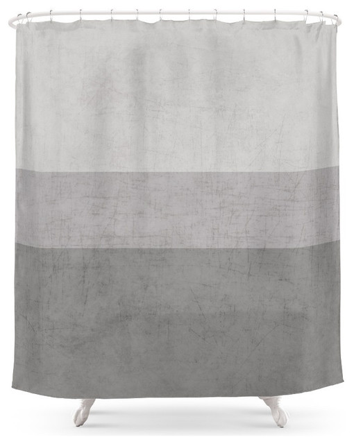 Society6 Classic Shower Curtain, Gray - Contemporary - Shower ...