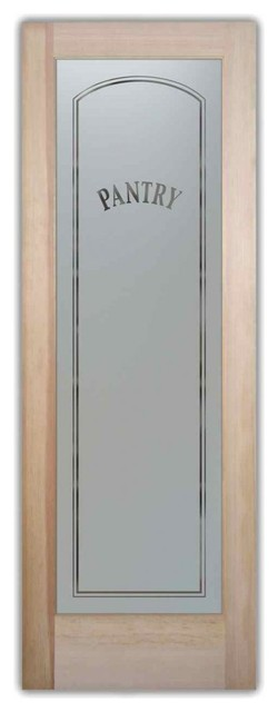 Shop Houzz Sans Soucie Art Glass Pantry Door Classic Arch Design Frosted Glass Interior Doors