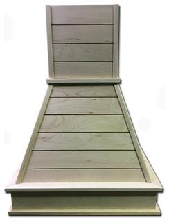Shiplap Chimney Range Hood - Transitional - Range Hoods And Vents - by Remodel Market