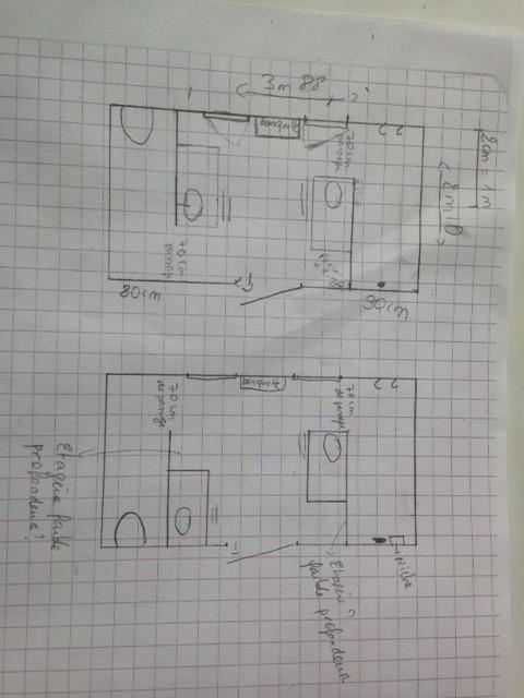 Optimisation De Salle De Bains En Construction - Salle de bain de 8m2