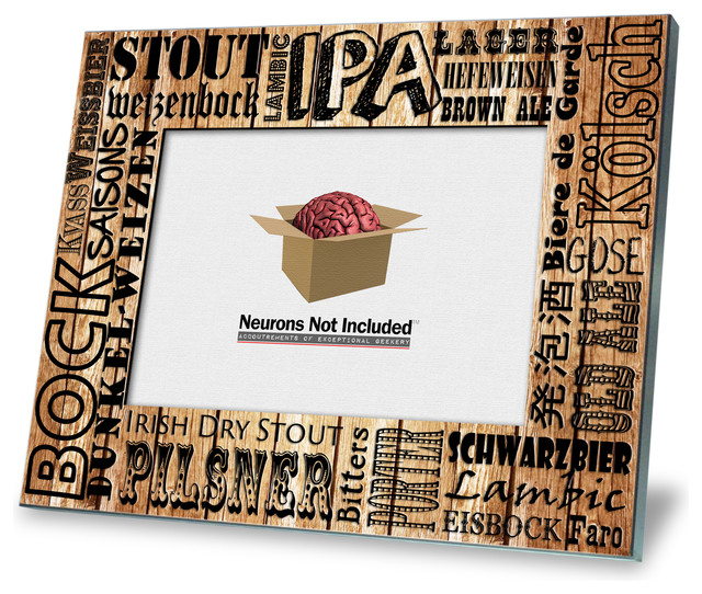 Beer Varieties Picture Frame - Contemporary - Picture Frames - by ...