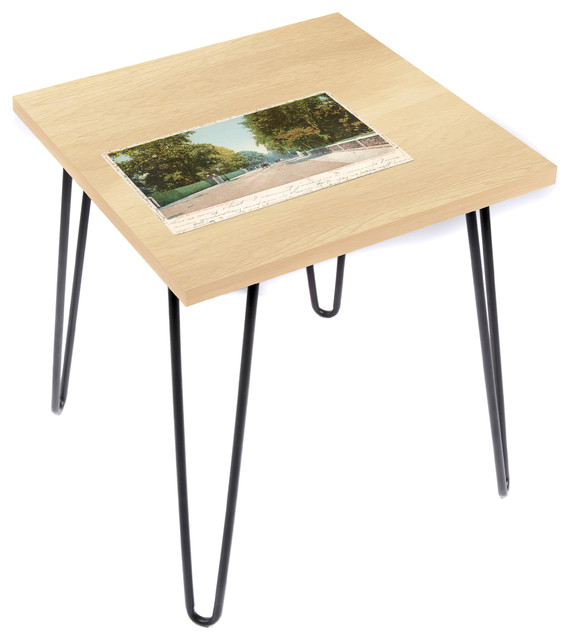 Lamou Gilded Playground Bellevue Ave Side Table 20