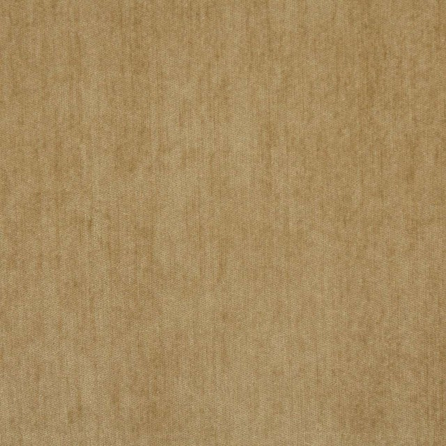 Tan, Solid Soft Chenille Upholstery Fabric By The Yard