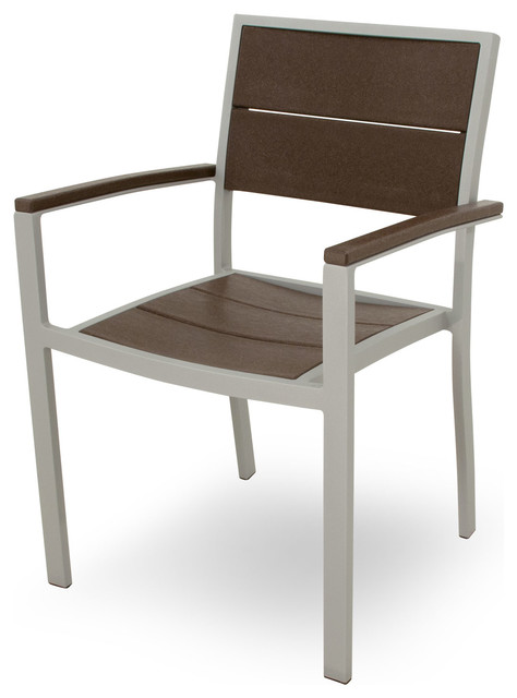 Outdoor Surf City Dining Arm Chair Modern Outdoor Dining Chairs by Fron