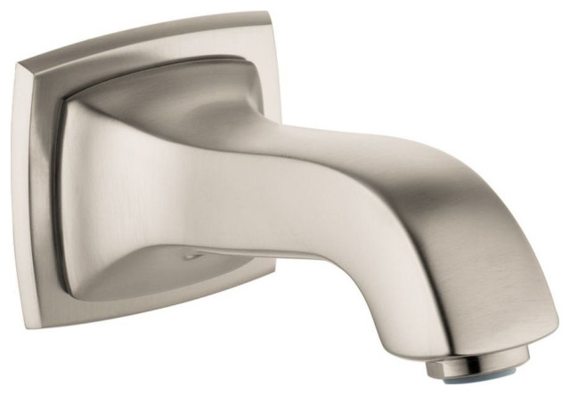 Hansgrohe Metropol Classic Tub Spout, Brushed Nickel