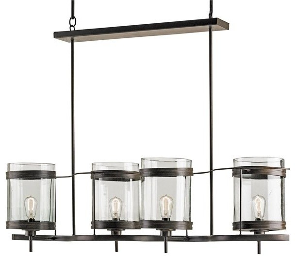 Currey And Company Lotus Chandelier: Currey And Company 9310 Quatermaine 4 Light Chandelier