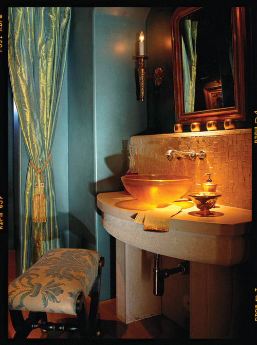 Carson Poetzl, Inc. eclectic powder room