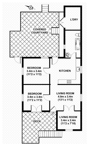 Small Queenslander Bathroom where to put the bathroom?