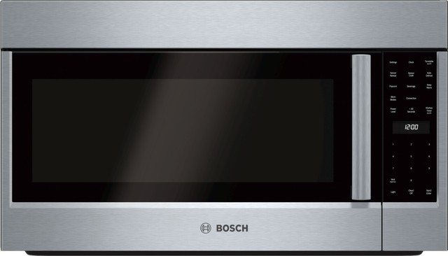 Bosch Over The Range Convection Microwave Stainless Steel