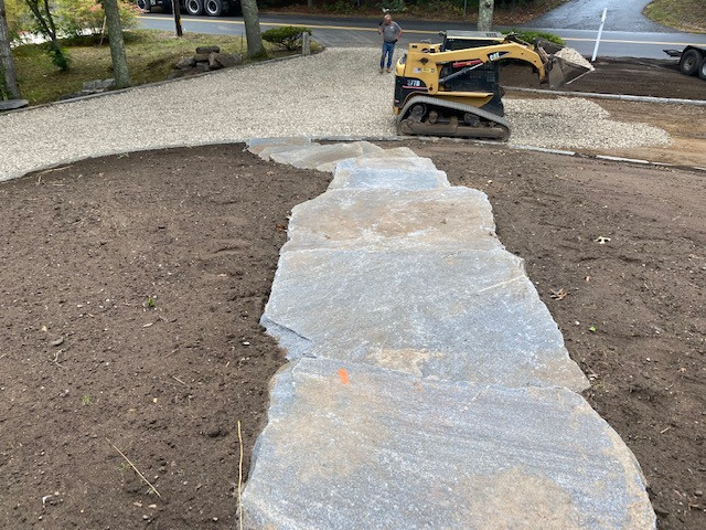 Orleans Stone Walkway