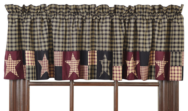 Plum Creek Valance.