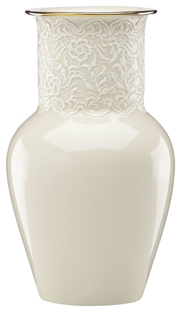 Lenox Lace Ginger Vase By Lenox Reviews Houzz