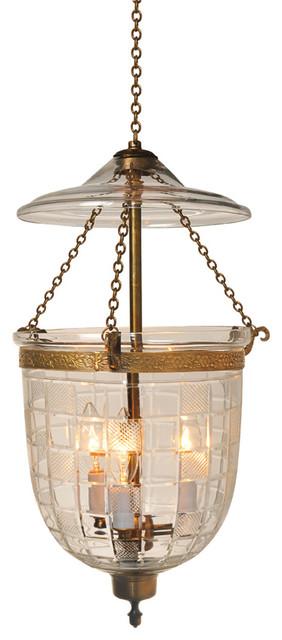 squarecut etching hundi glass bell jar lantern 9 d traditional