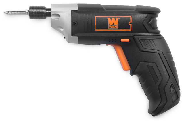 3.6v Lithium-Ion Cordless Electric Screwdriver With Bits And Belt Holster