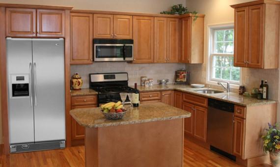 Charleston Light Kitchen Cabinets Home Design Traditional