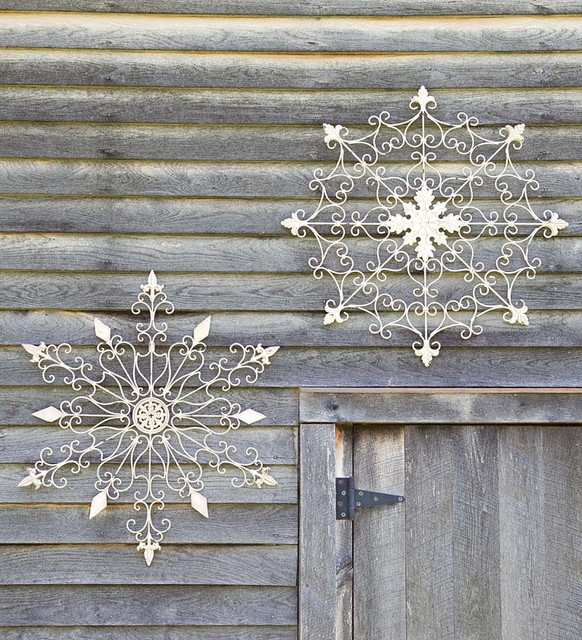 Iron Snowflake Decorations
