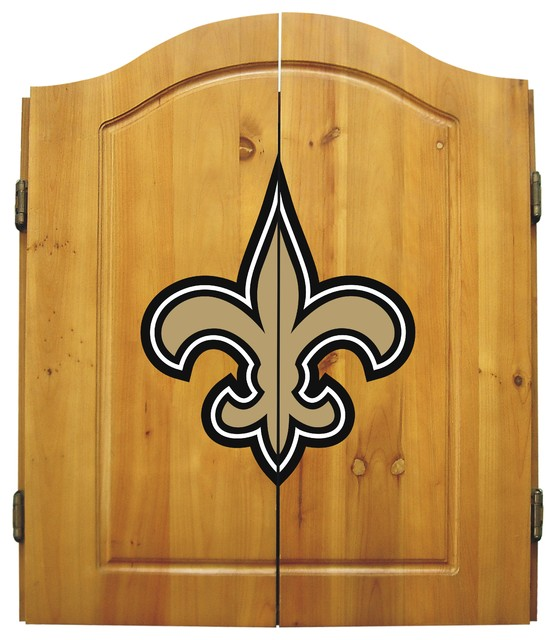 Imperial International - New Orleans Saints Dart Cabinet - View in Your Room! | Houzz