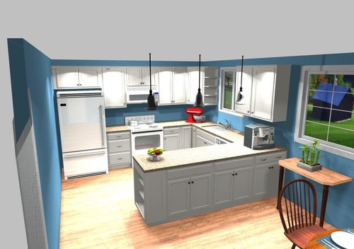 Attirant Lowes Kitchen Remodel *(design, Before, And After)*