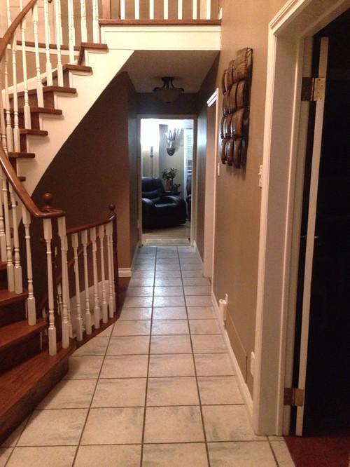 Tiling Idea For My Narrow Hallway