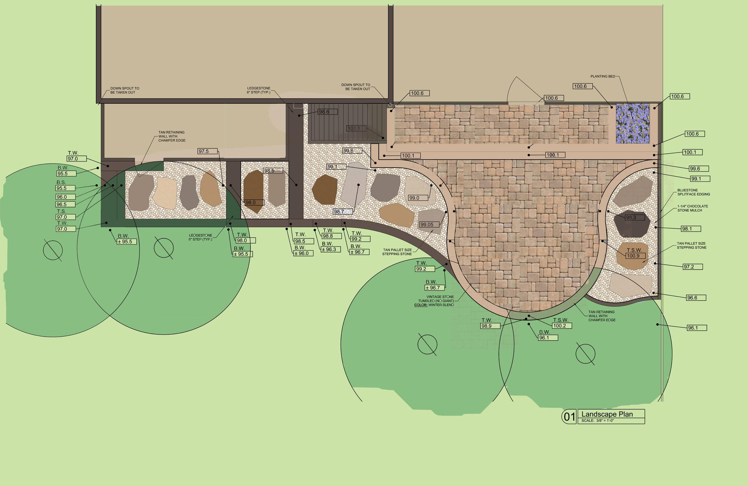 Goshen Residence Retaining Wall