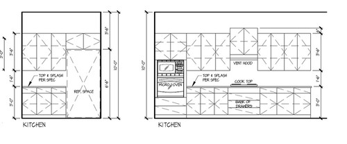 Kitchen Cabinets Elevations help in choosing kitchen cabinet fronts