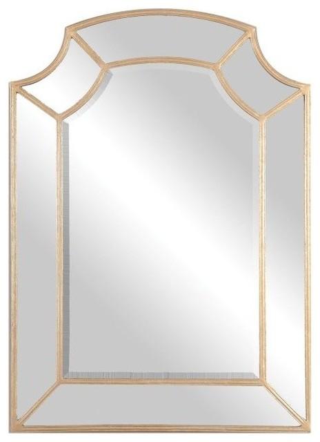 Uttermost Francoli Gold Arch Mirror. -1