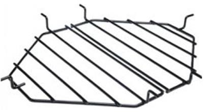 Heat Deflector Rack, Drip Pan Rack Oval Extra Large 400, 2 -Pieces..