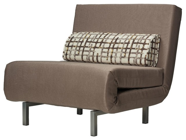 Terrific Cortesi Home Ch Lc103100 Savion Taupe Accent Chair Bed Dailytribune Chair Design For Home Dailytribuneorg