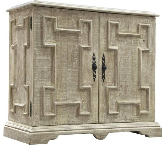 CFC Furniture, Reclaimed Lumber Gothic Cabinet - Traditional - Accent Chests And Cabinets - by ...