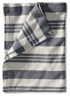 Bold Stripe Throw traditional throws
