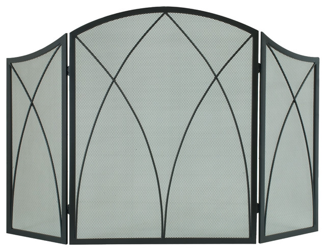 Arched Fireplace Screen.