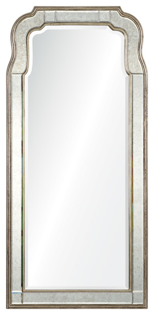 Silver Leaf Mirror By Michael S. Smith.