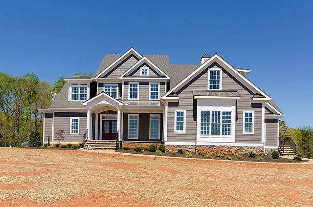 Completed Homes And Exteriors Craftsman Exterior