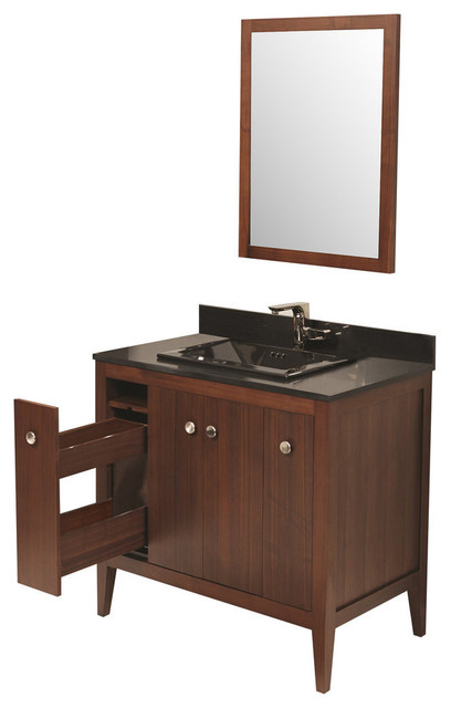 Ronbow Corporation Ronbow Sophie Solid Wood 36 Quot Vanity