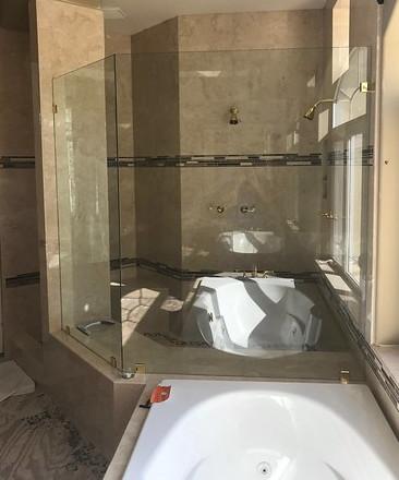 Mission Viejo Custom Marble Shower
