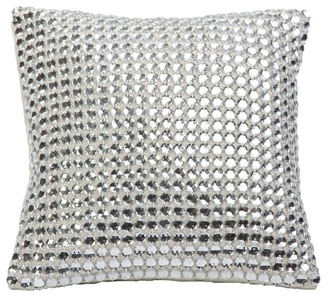 Mirror Studs Pillow.