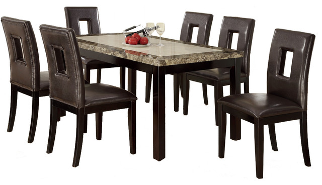 two tone wood table top