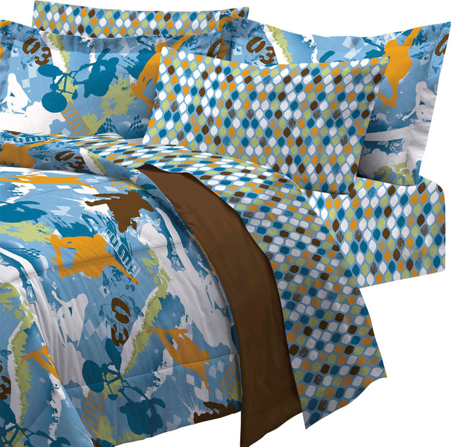 Great Contemporary Kids Bedding by oBedding