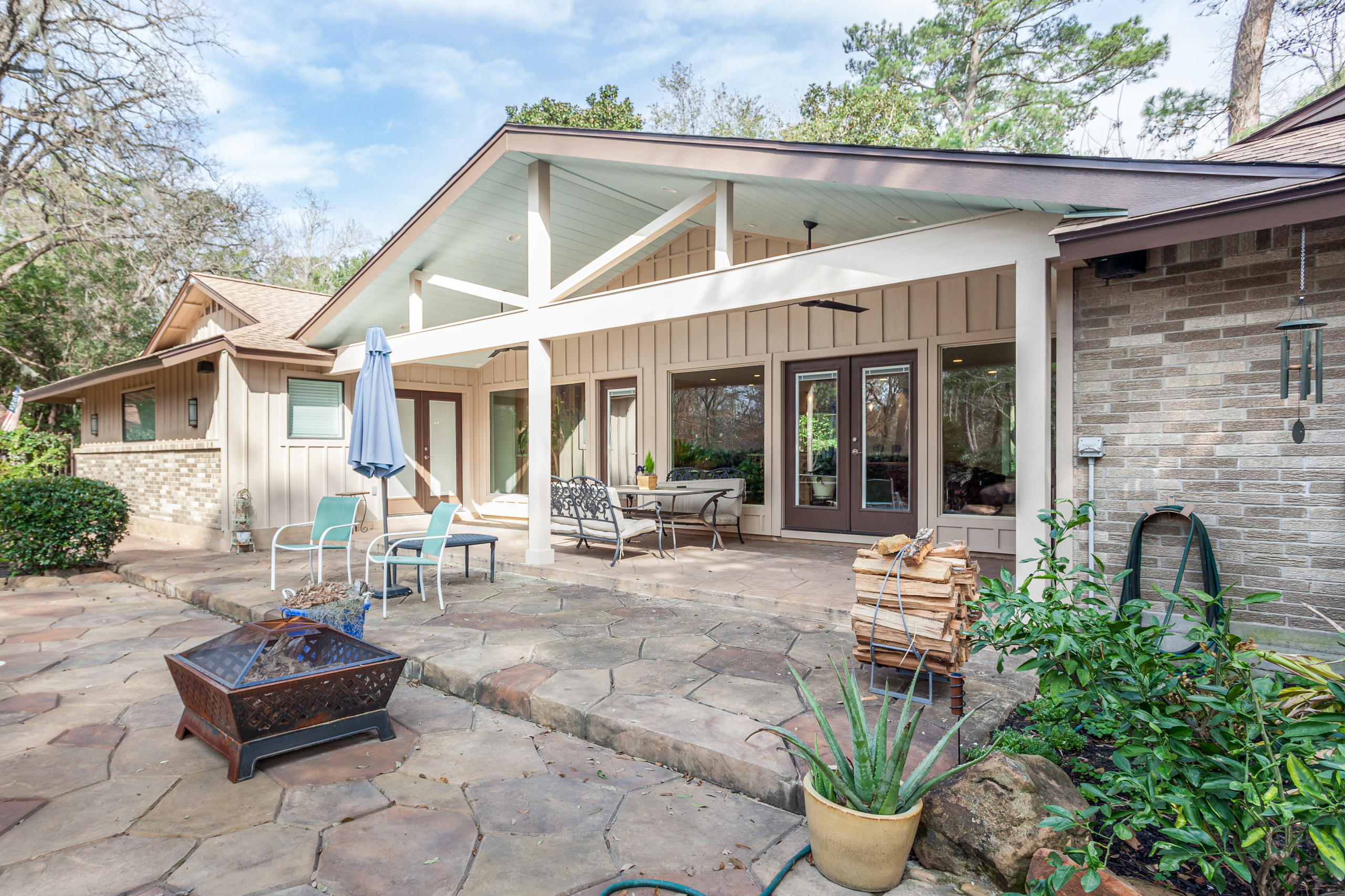 Country home renovation