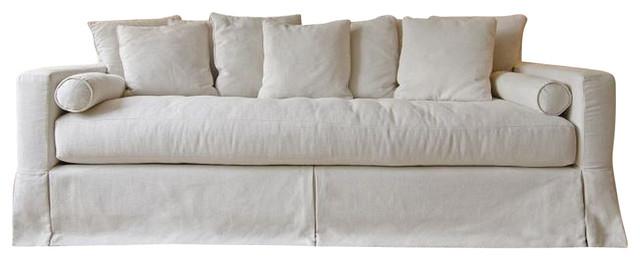 Ordinaire Beige Linen Sofa