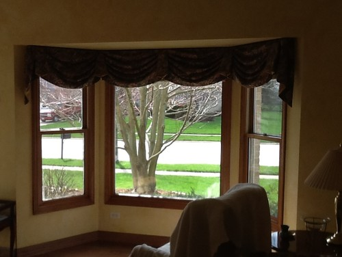 Window Treatments For Boxy Bay Windows Help