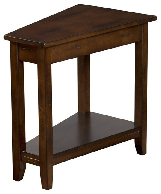 Superior Sunny Designs Sante Fe End Table, Dark Chocolate Side Tables And End
